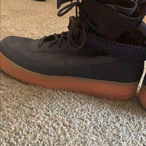 Nike SF Air Force 1 Navy Blue